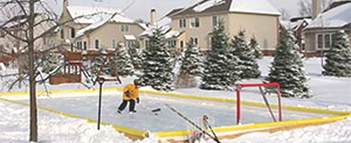 Chicago: Backyard Ice Rinks All the Rage