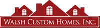 Walsh Custom Homes Logo